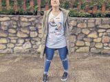 Camiseta «Pisa fuerte y deja huella»